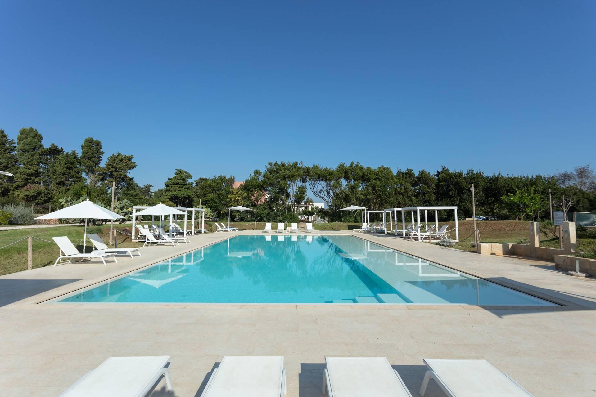 Masseria Mongiò con piscina a Baia dei Turchi, Otranto