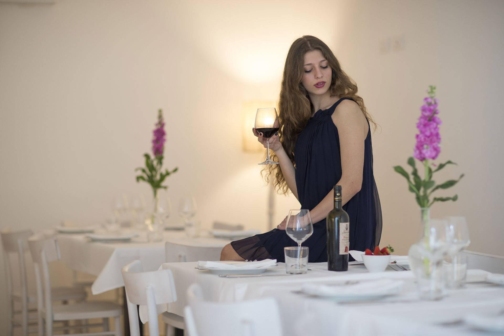 Masseria Mongiò con ristorante a Baia dei Turchi, Otranto