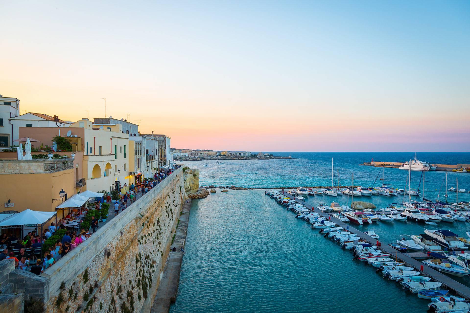 Vista di Otranto