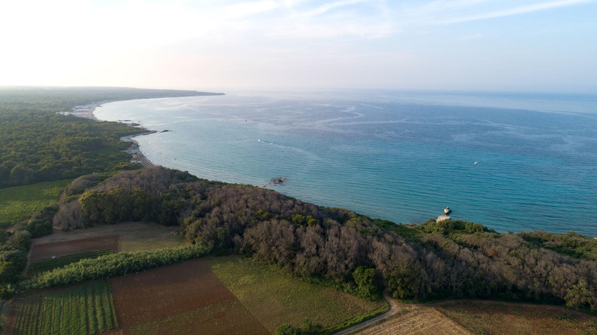 Masseria Mongiò vicino al mare